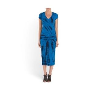 Young Fabulous and Broke Araya Tie Dye Midi Dress
